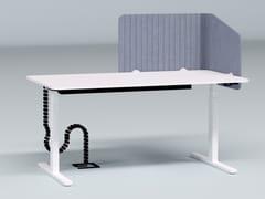Pannello divisorio da scrivania fonoassorbente in plastica riciclataRIGHT WRAP - IMPACT ACOUSTIC