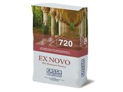 Bio-rinzaffo a base di calce idraulica naturaleRINZAFFO 720 - FASSA