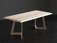 Tavolo da pranzo rettangolare in legno RIO + SEVEN - ECOLAB 2
