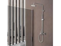 Colonna doccia a parete con doccettaRIO - WEISS-STERN
