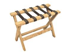 Sgabello basso pieghevole in legno masselloRIPS - CONCEITO CASA