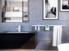 Porta asciugamani a barra in metalloRISE - DAMIANO LATINI