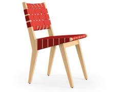Sedia in legno con bande di cotoneRISOM | Sedia - KNOLL INTERNATIONAL
