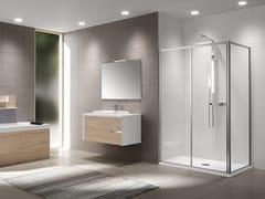 Box doccia con porta scorrevoleRIVIERA 2.0 | 2P + F - NOVELLINI