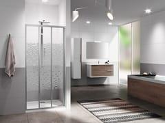 Box doccia angolare con porta scorrevoleRIVIERA 2.0 | 3P - NOVELLINI