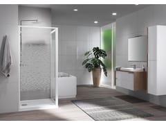 Box doccia con porta pivotanteRIVIERA 2.0 | G + F - NOVELLINI