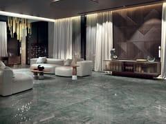 Pavimento/rivestimento in gres laminato effetto marmoALLURE - RIVIERA - COTTO D'ESTE