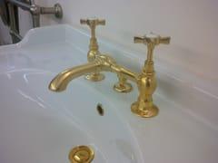 Rubinetto per lavabo a 2 fori da piano in ottoneRL1013   Rubinetto per lavabo - BLEU PROVENCE