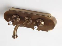 Rubinetto per lavabo a muro con piastraRL1015 | Rubinetto per lavabo - BLEU PROVENCE