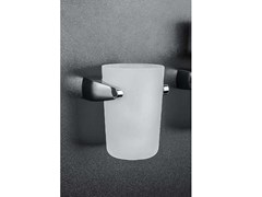 Porta bicchiereROAD   Portaspazzolino a muro - COLOMBO DESIGN