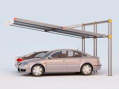 Pensilina in acciaio per posto autoROBIN   Pensilina per posto auto - DIMCAR