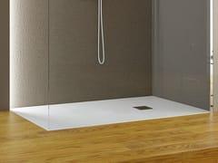 Piatto doccia antiscivolo rettangolare in Luxolid®ROCKY SOLID CLASSIC - RELAX DESIGN