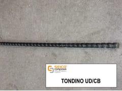 Barra, tondino, staffa in acciaio per cemento armato TONDINO UD/CB® - Profili Pultrusi Preformati