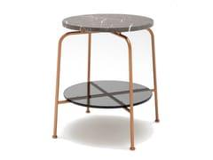 Tavolino da caffè rotondo in marmo ROLF BENZ 947 | Tavolino da caffè -