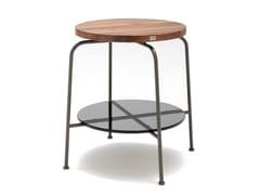 Tavolino rotondo in legno ROLF BENZ 947 | Tavolino rotondo -