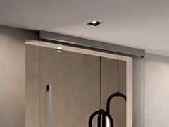 GAROFOLI, ROLLER Binario in metallo per porta scorrevole