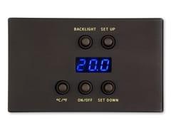 Pannello termostato per camere e aree comuniROLLING STYLE | Termoregolazione e controllo igrometrico - MICRODEVICE