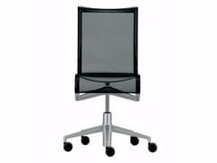 Sedia ufficio operativa ad altezza regolabile girevole con ruote ROLLINGFRAME - 432 - Frame