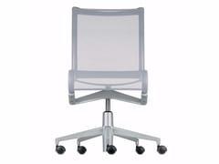 Sedia ufficio operativa ad altezza regolabile girevole con ruote ROLLINGFRAME+ - 456 - Frame