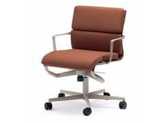 Sedia ufficio operativa ad altezza regolabile girevole con braccioli ROLLINGFRAME 52 SOFT - 474 - Frame 52 / Frame 52 Soft