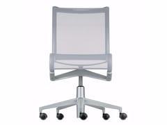 Sedia ufficio operativa ad altezza regolabile girevole con ruote ROLLINGFRAME+ LOW - 448 - Frame