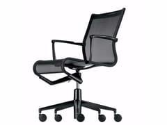 Sedia ufficio operativa ad altezza regolabile girevole con braccioli ROLLINGFRAME+ LOW - 449 - Frame