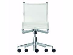 Sedia ufficio operativa ad altezza regolabile in rete a 5 razze con ruote ROLLINGFRAME+ LOW TILT - 442 - Frame