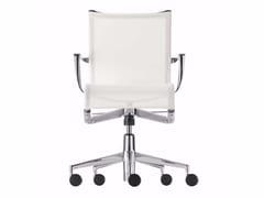 Sedia ufficio operativa ad altezza regolabile girevole con braccioli ROLLINGFRAME+ TILT - 445 - Frame