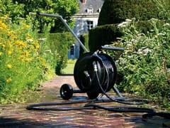 TRADEWINDS, ROLLX Carrello avvolgitubo da giardino in acciaio inossidabile