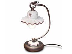 Lampada da tavolo in ceramica con braccio fissoROMA | Lampada da tavolo - FERROLUCE