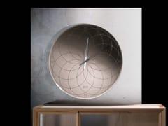 Orologio in vetro serigrafato da pareteROMA - RIFLESSI