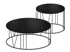 Tavolino rotondo in cristalloROMA - ZEUS