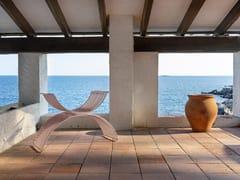 Sedia da giardino in acciaio verniciato a polvere con braccioliROMANA | Sedia - ISIMAR
