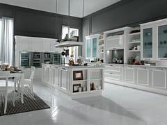 Cucina laccata con isola ROMANTICA | Cucina con isola -