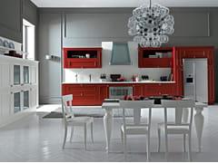 Cucina componibile lineare ROMANTICA | Cucina lineare -