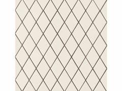 Pavimento/rivestimento in gres porcellanato ROMBINI LOSANGE WHITE GREEN - Rombini