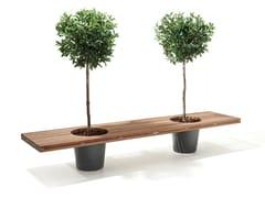 Extremis, ROMEO & JULIET Panca da giardino in legno