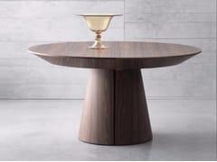 Tavolo allungabile rotondo in legno RONDÒ - Bauline