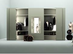 Armadio con specchio girevole e apertura totale ROOMY | Armadio con specchio - Roomy