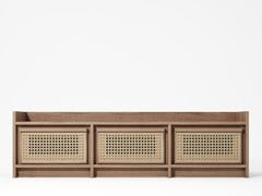 Mobile TV in legno masselloROOTS | Mobile TV - KARPENTER