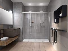 NOVELLINI, ROSE ROSSE 2A Box doccia a nicchia con porta scorrevole