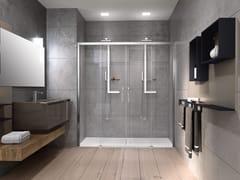 Box doccia a nicchia con porta scorrevoleROSE ROSSE   2A - NOVELLINI