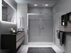 Box doccia a nicchia con porta scorrevoleROSE ROSSE | 2M - NOVELLINI