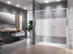 Box doccia a nicchia con porta scorrevoleROSE ROSSE | 2P - NOVELLINI