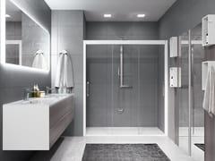 Box doccia a nicchia con porta scorrevoleROSE ROSSE | 3P - NOVELLINI
