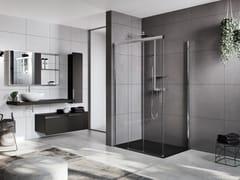 Box doccia angolare con porta scorrevoleROSE ROSSE | 3PH + FH - NOVELLINI