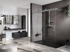 Box doccia angolare con porta scorrevoleROSE ROSSE | PHB - NOVELLINI