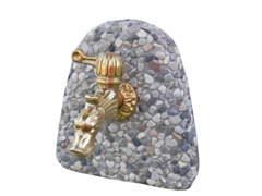 Rosone in pietra per lavelli a muroROSONE AD ARCO - BONFANTE