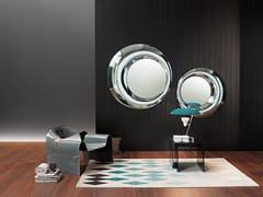 Specchio rotondo con cornice da pareteROSY | Specchio - FIAM ITALIA