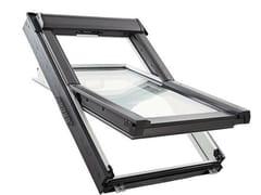Roto, ROTOQ-S Finestra da tetto a bilico in PVC o legno